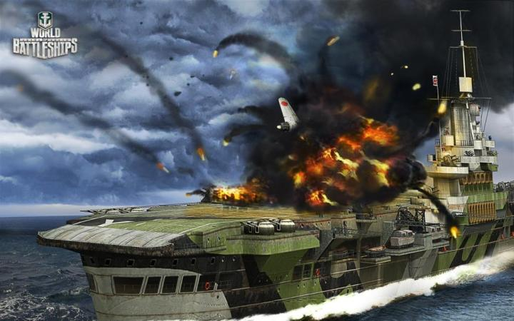 Авианосцы в игре World Of Warships