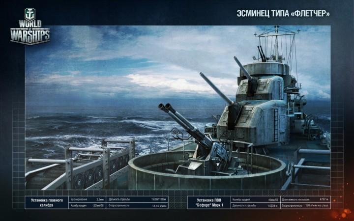 Старт закрытого альфа-теста World of Warships