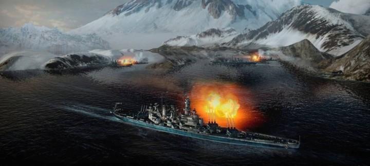 Вооружение кораблей в World of Warships