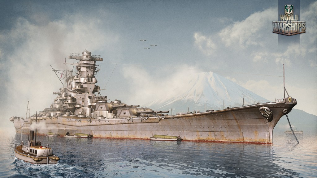 Три новых рендера World of Warships