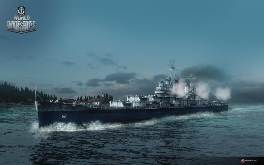 Крейсеры в World of Warships