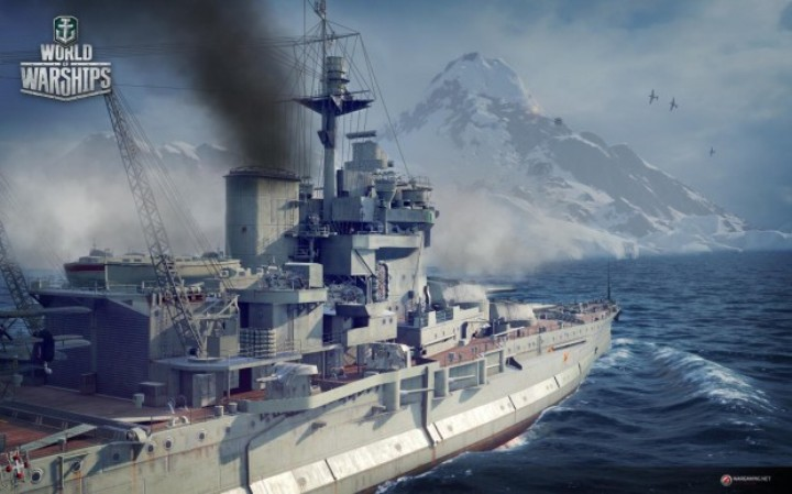 Стартовал ОБТ World of Warships